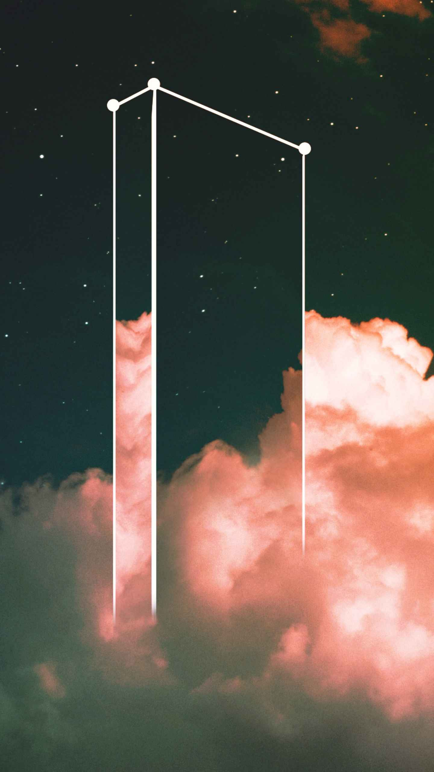Cloud Dimension iPhone Wallpaper