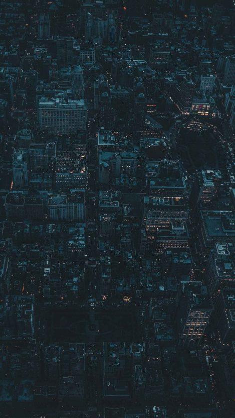 Dark City iPhone Wallpaper