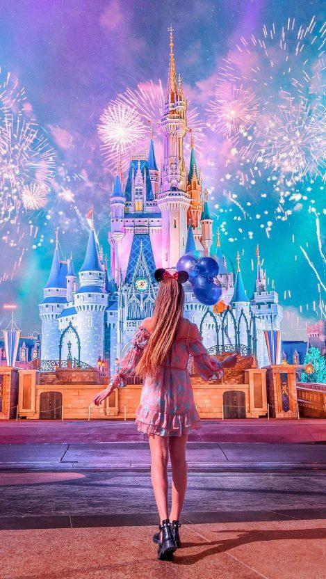 Disneyworld iPhone Wallpaper