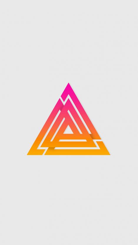 Divine Triangle iPhone Wallpaper