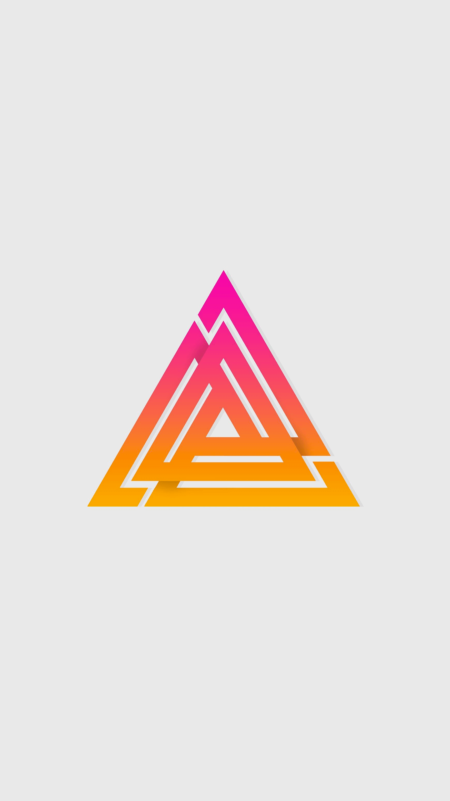 Divine Triangle iPhone Wallpaper