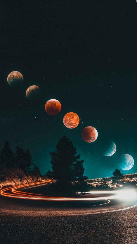 Eclipse iPhone Wallpaper