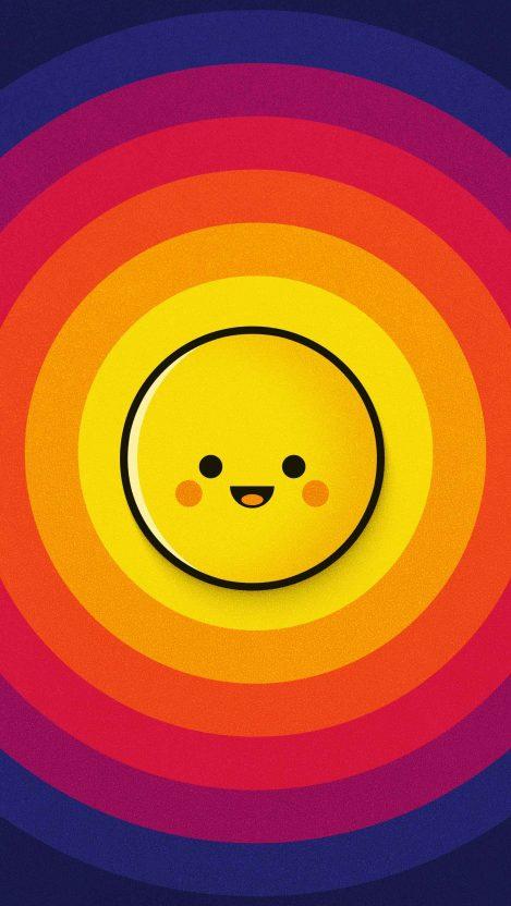 Emoji Ball iPhone Wallpaper