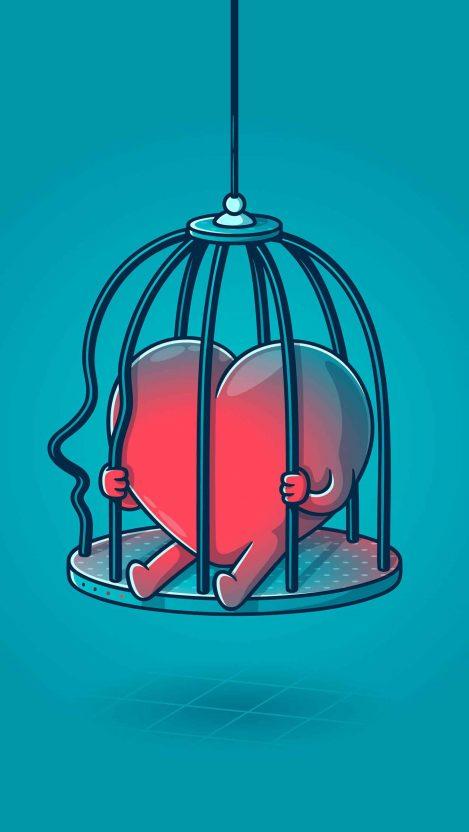 Emotional barriers iPhone Wallpaper