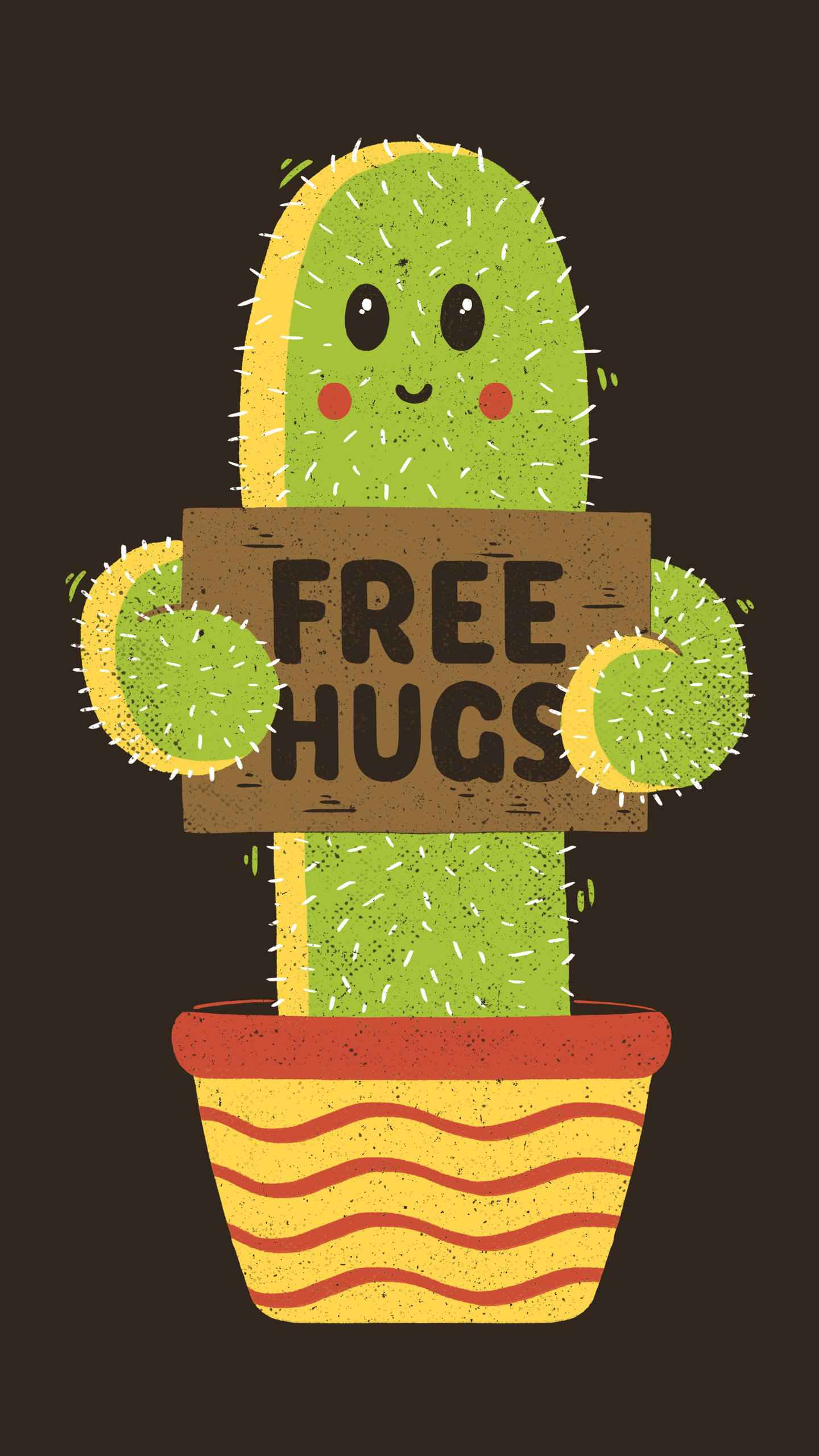 Free hugs iPhone Wallpaper