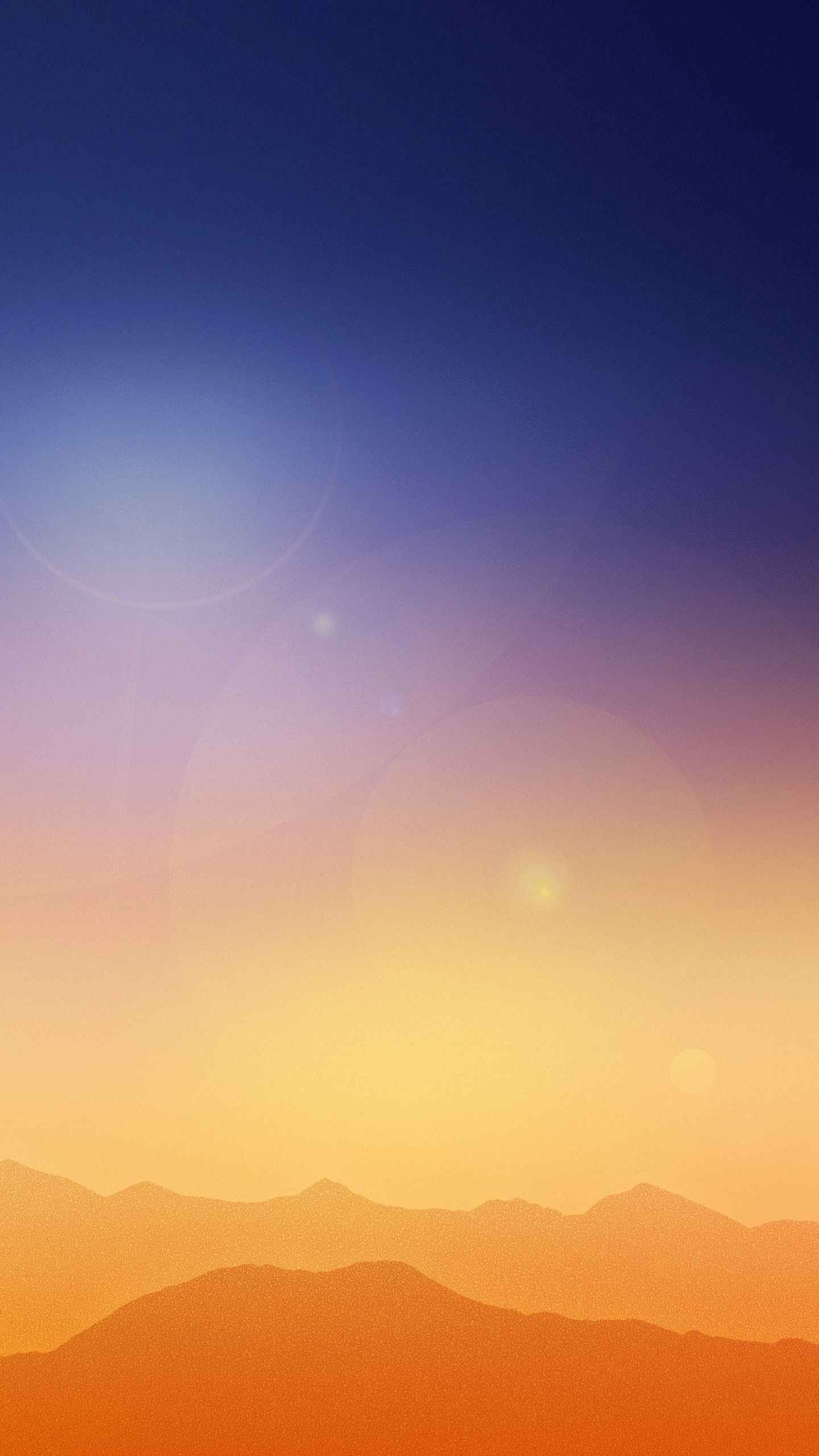 Gradient Glow iPhone Wallpaper