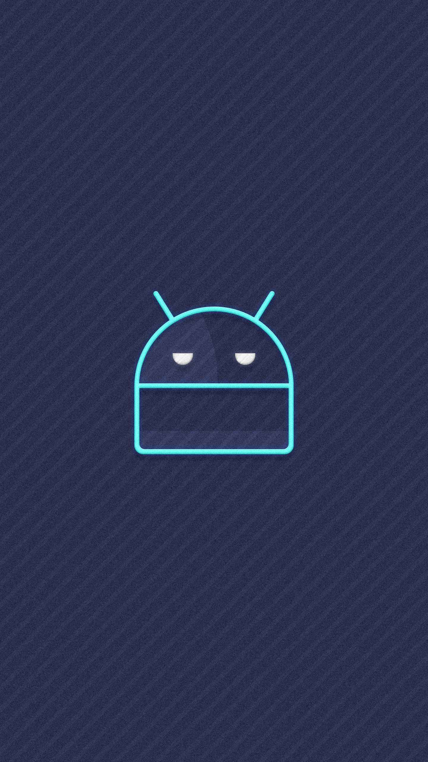 Grumpy Android iPhone Wallpaper