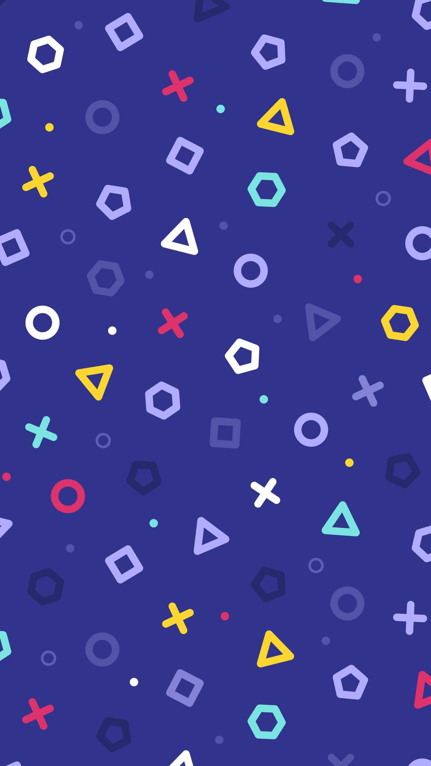 HQ Dots iPhone Wallpaper