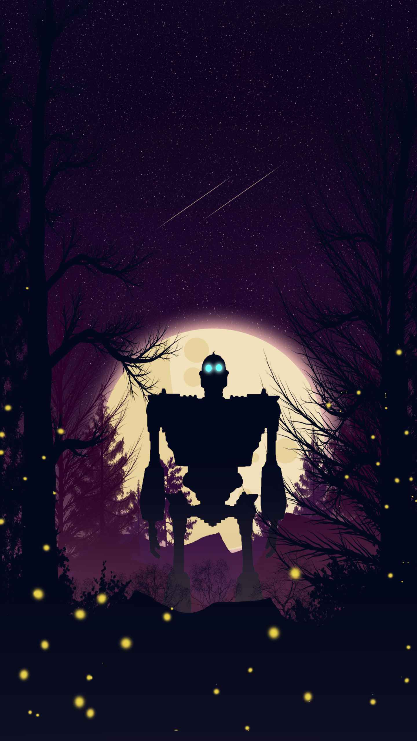 Iron Giant iPhone Wallpaper
