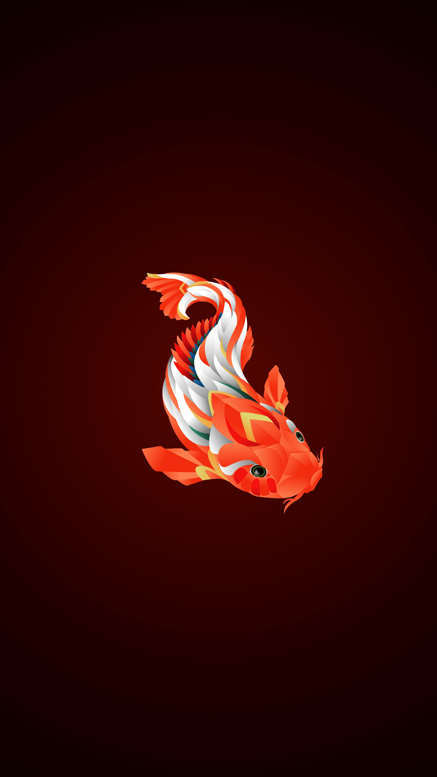 Koi Fish iPhone Wallpaper