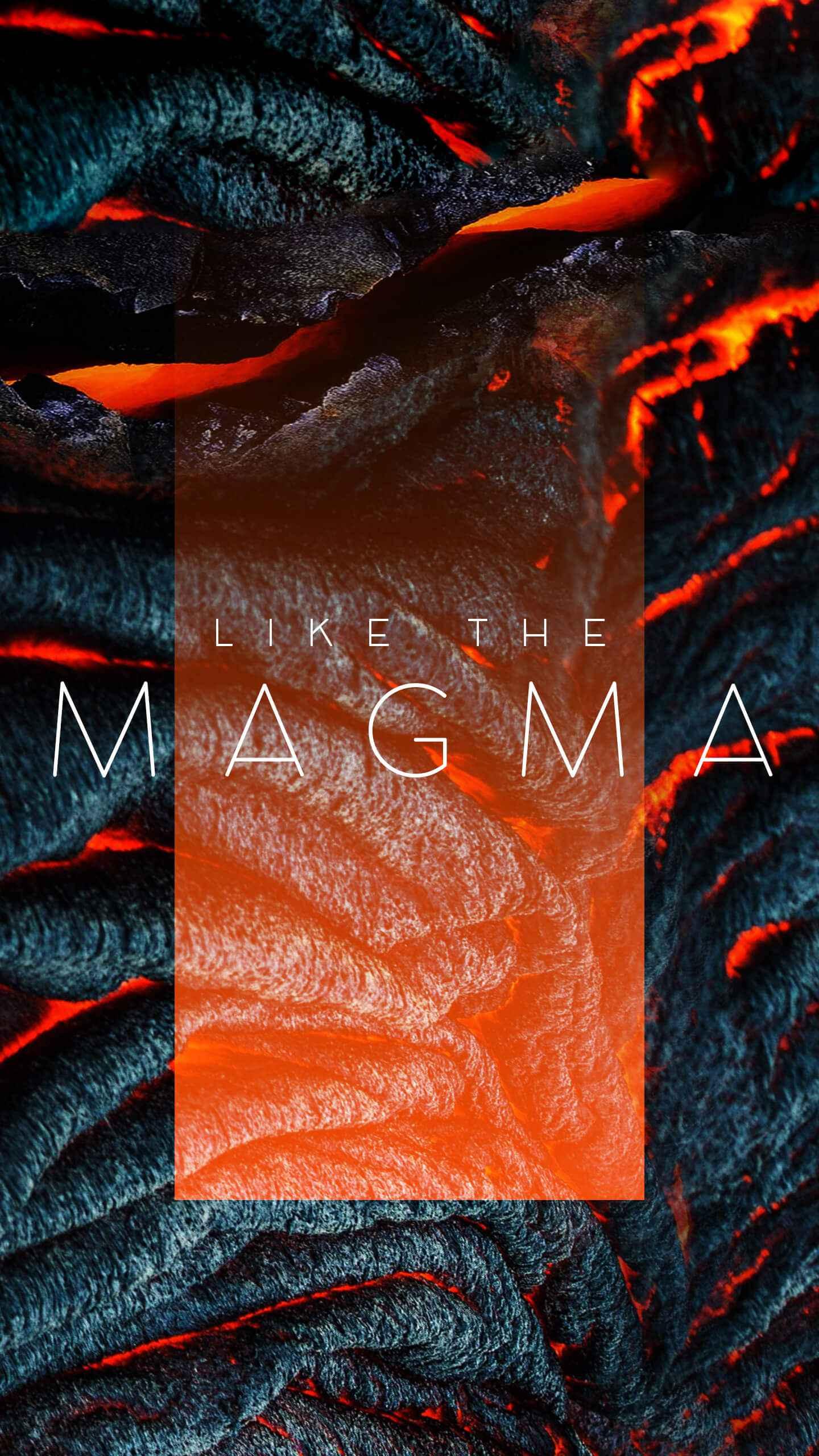 Magma iPhone Wallpaper