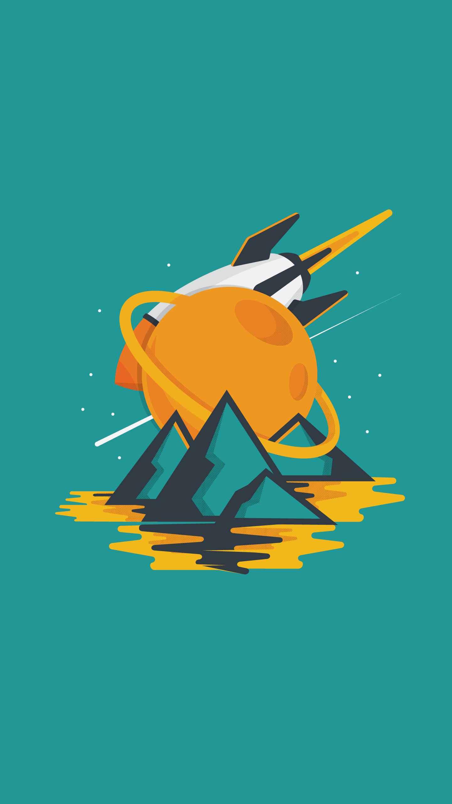 Moontrap iPhone Wallpaper