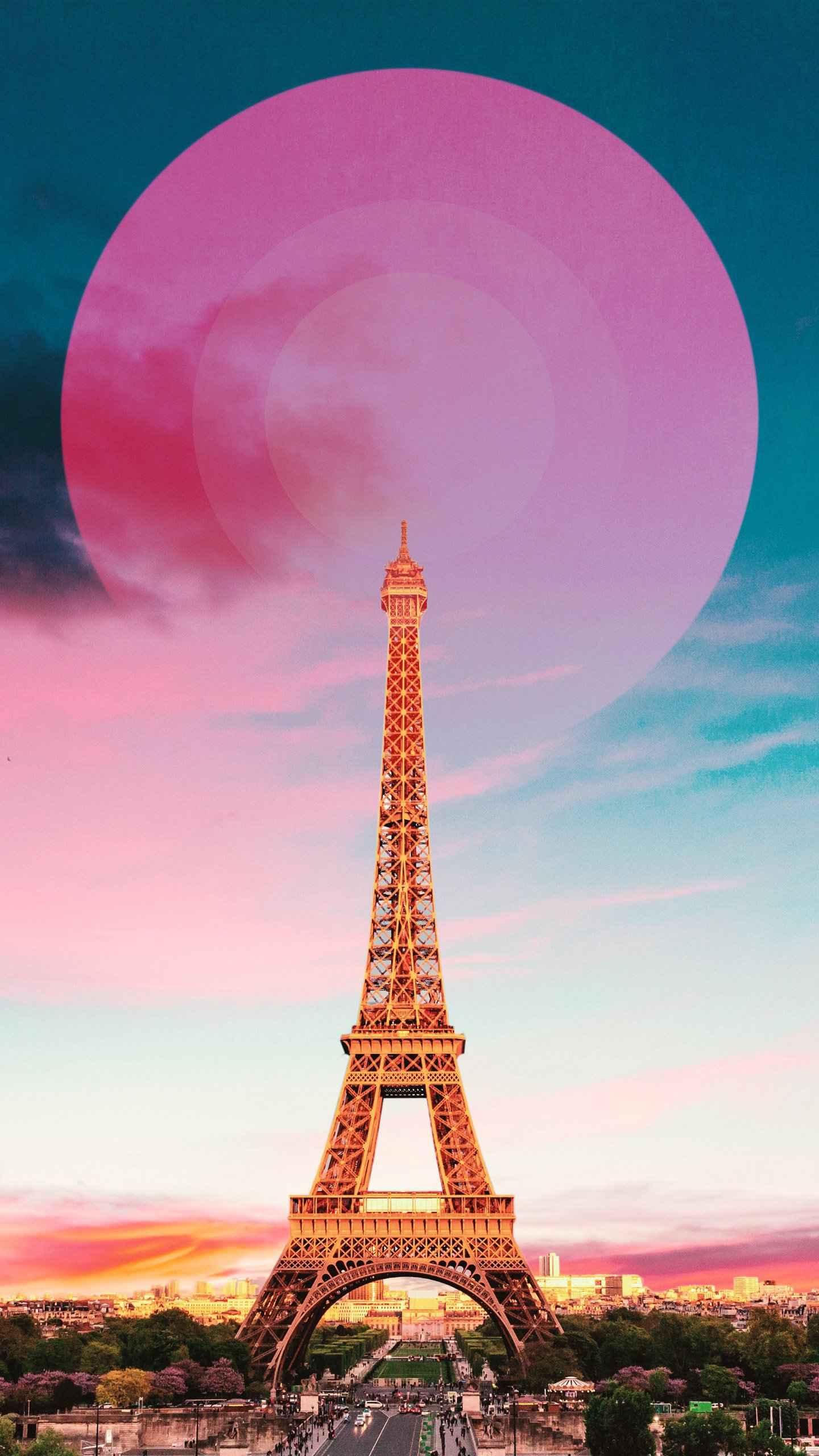Paris Eiffel Tower iPhone Wallpaper