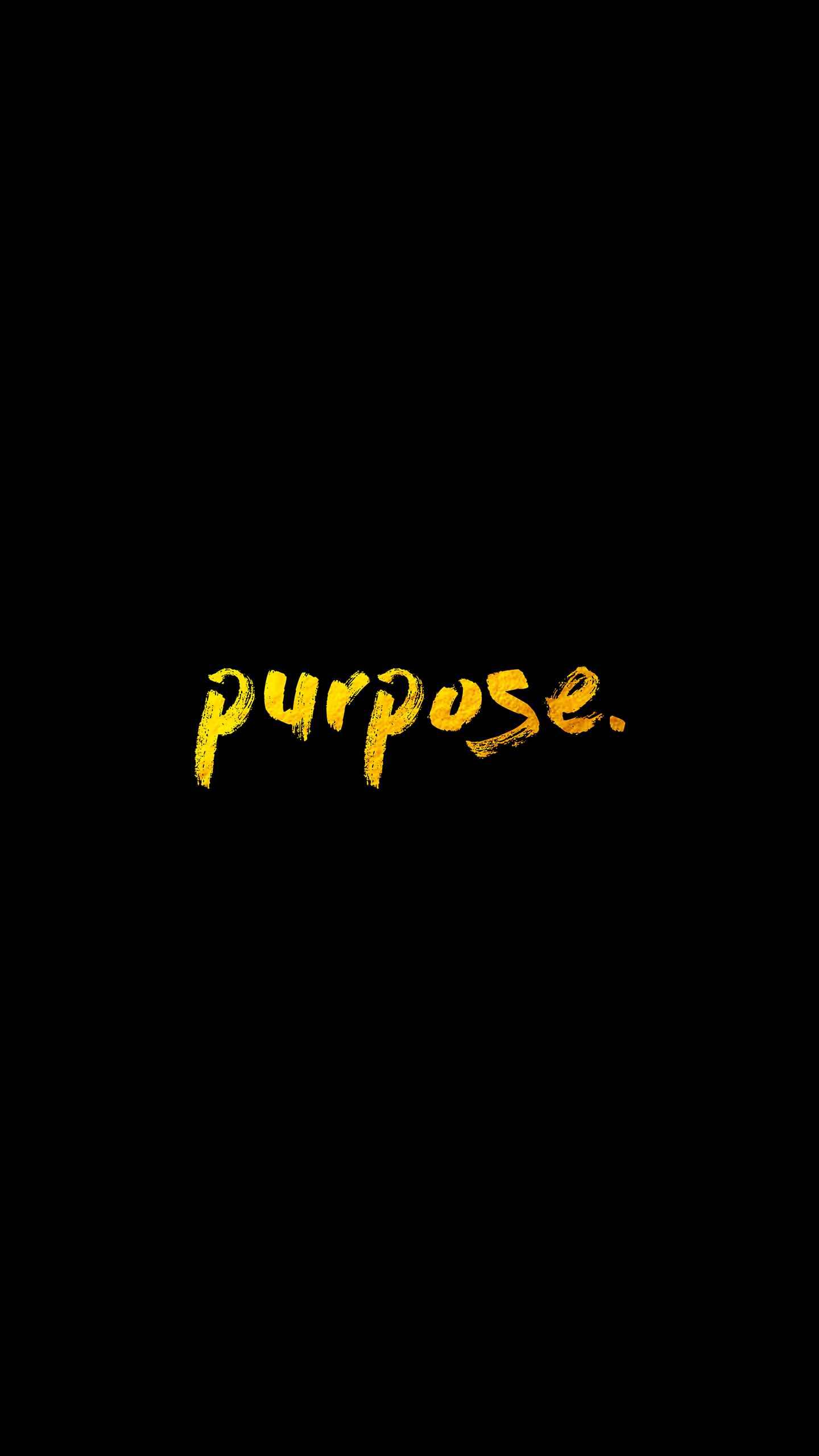 Purpose iPhone Wallpaper