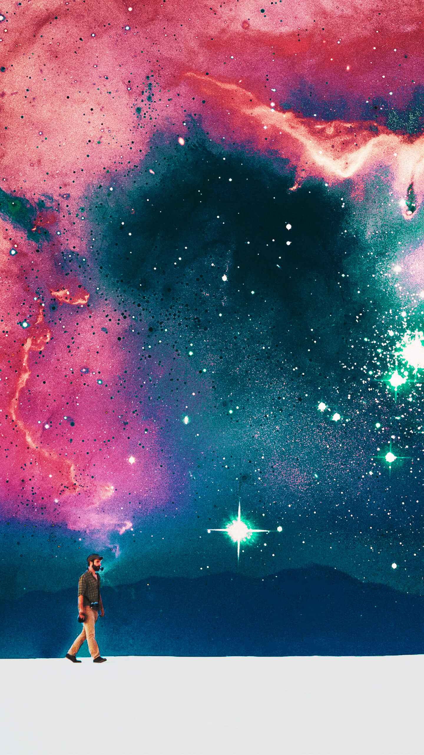 Quantum Traveller iPhone Wallpaper