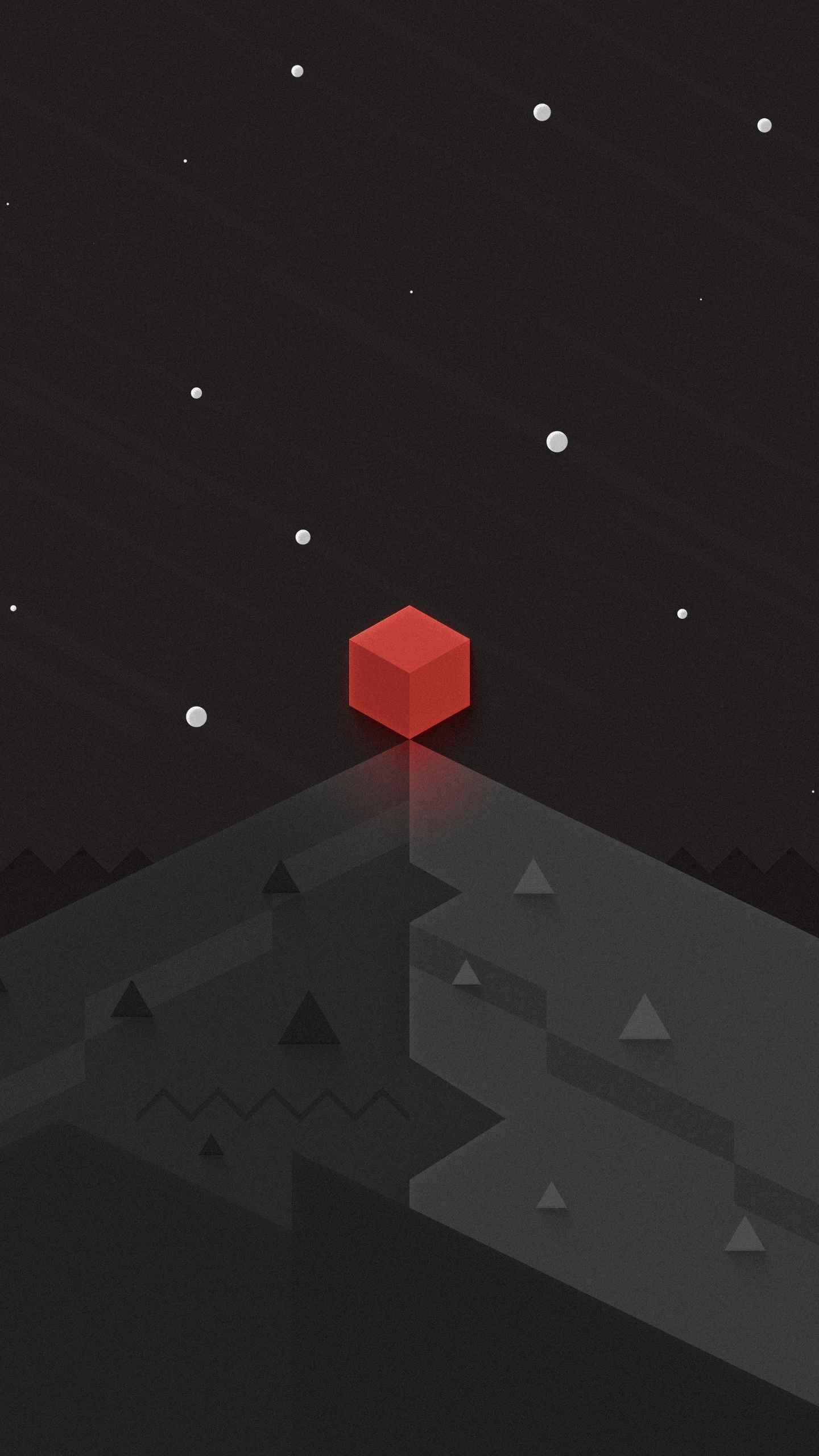 Red Hex iPhone Wallpaper