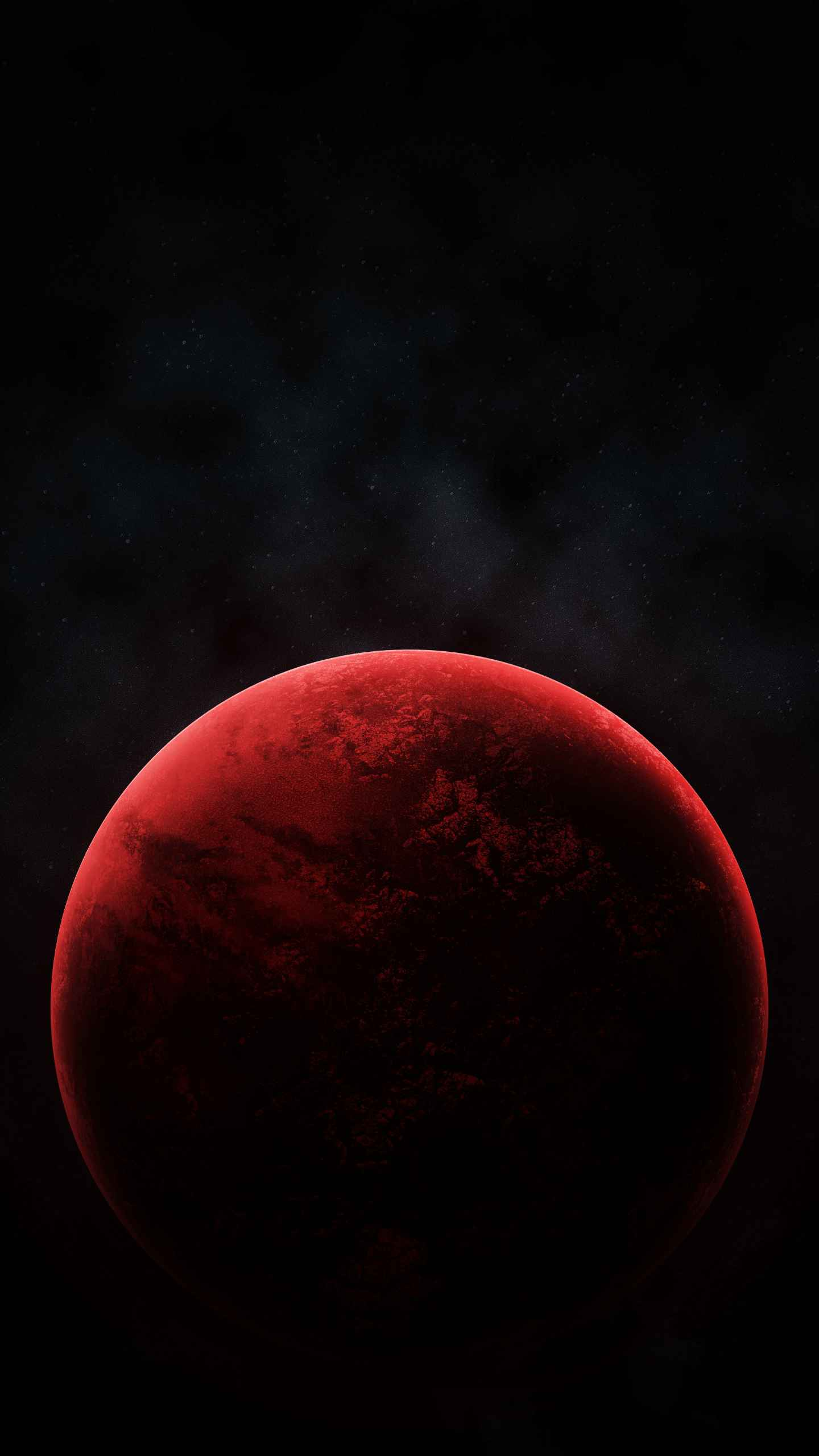 Red Planet iPhone Wallpaper