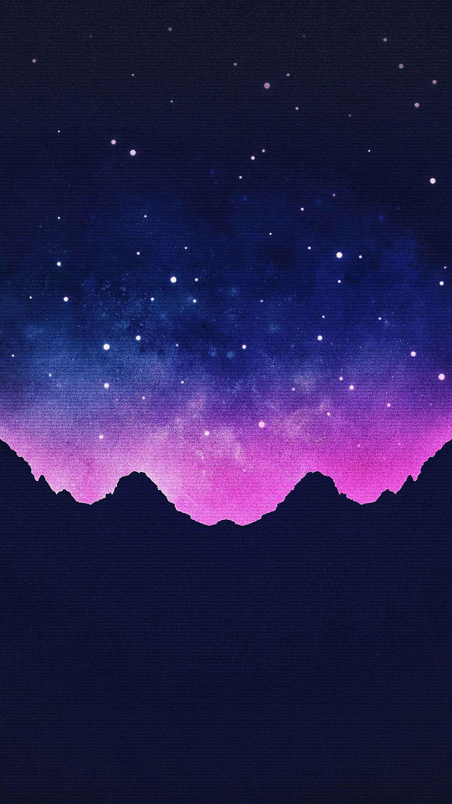 Retro Space iPhone Wallpaper