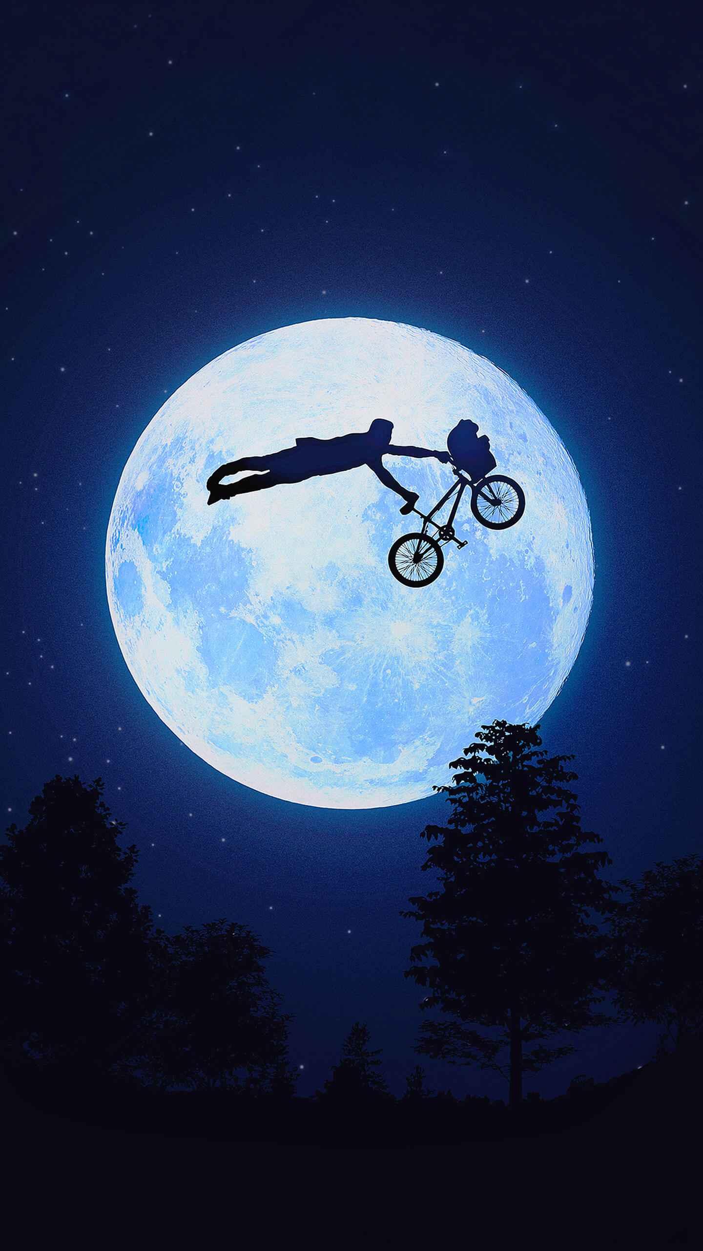 Riding the BMX like a Boss iPhone Wallpaper