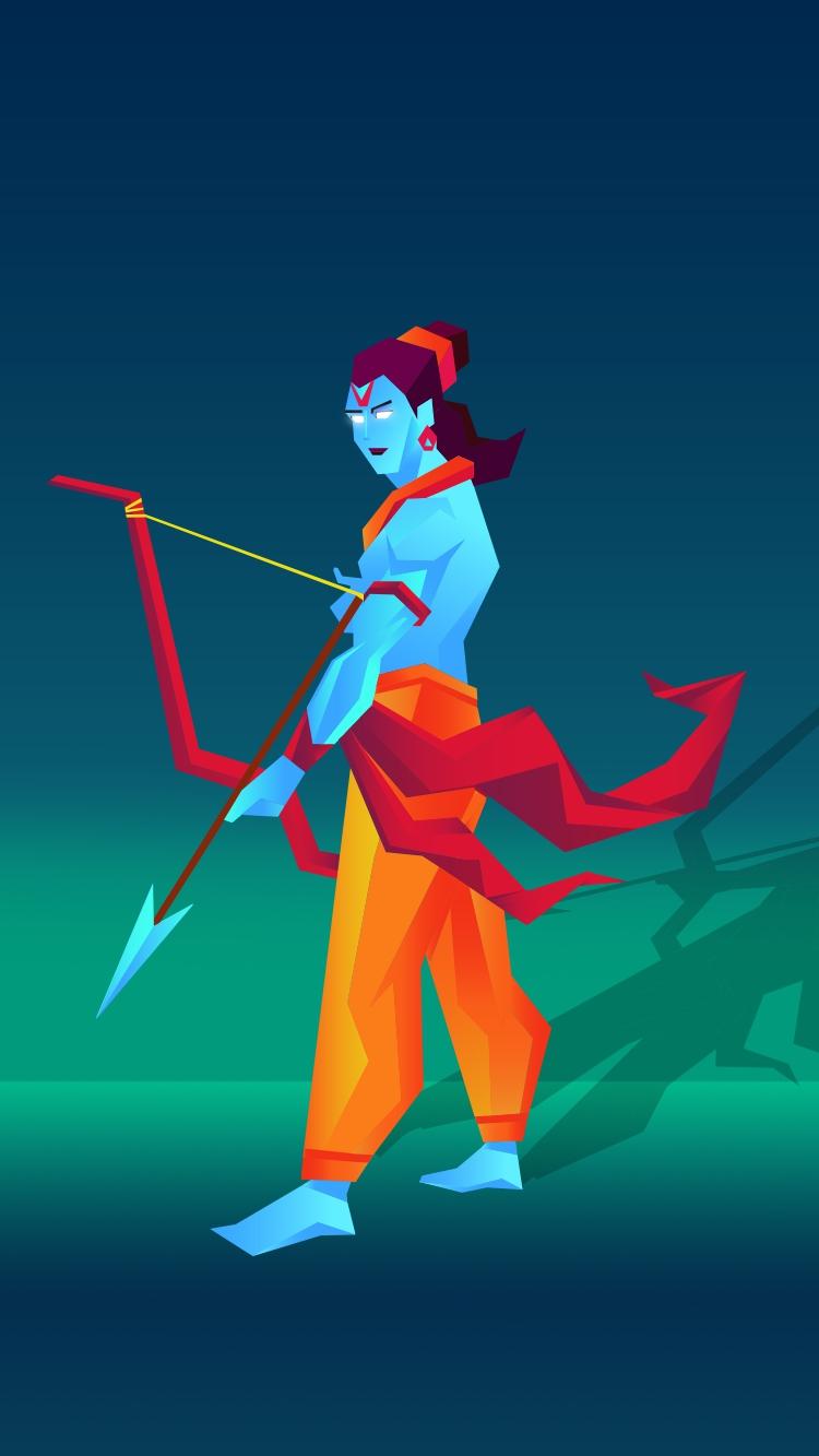 Shree Ram iPhone Wallpaper