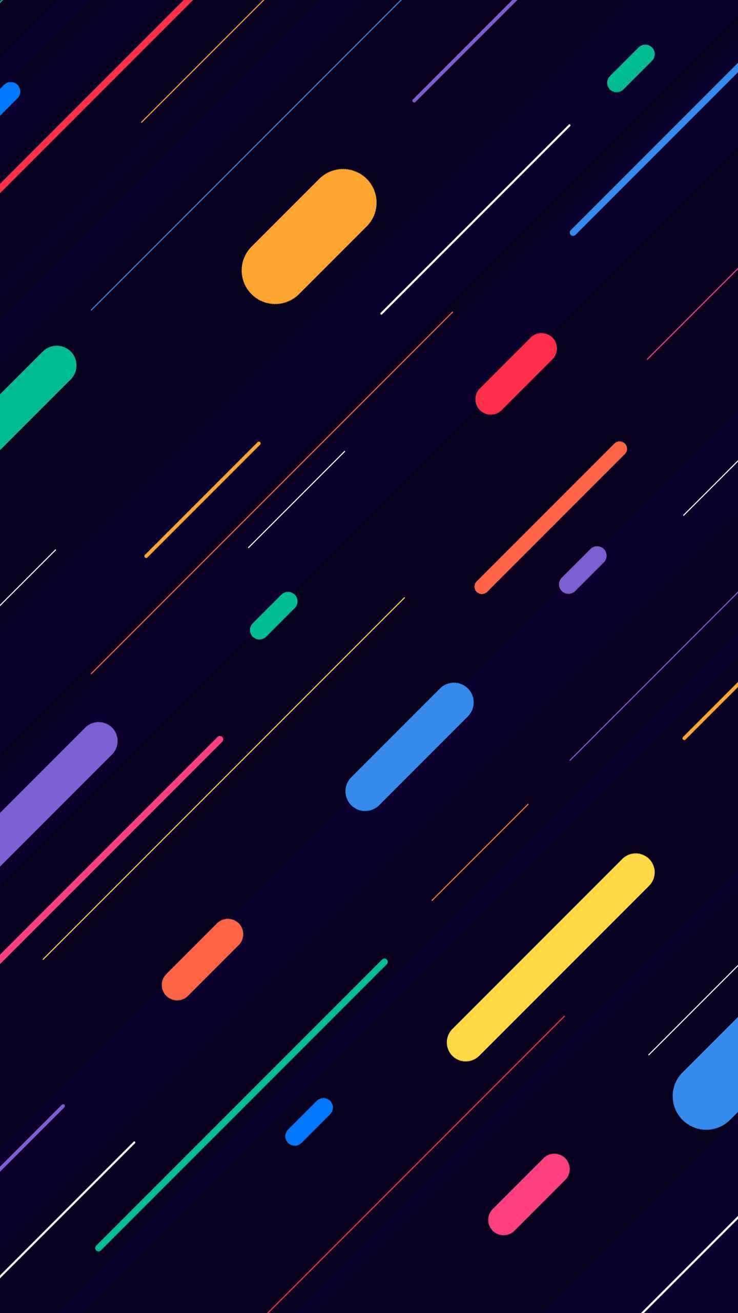 Slash Colours iPhone Wallpaper