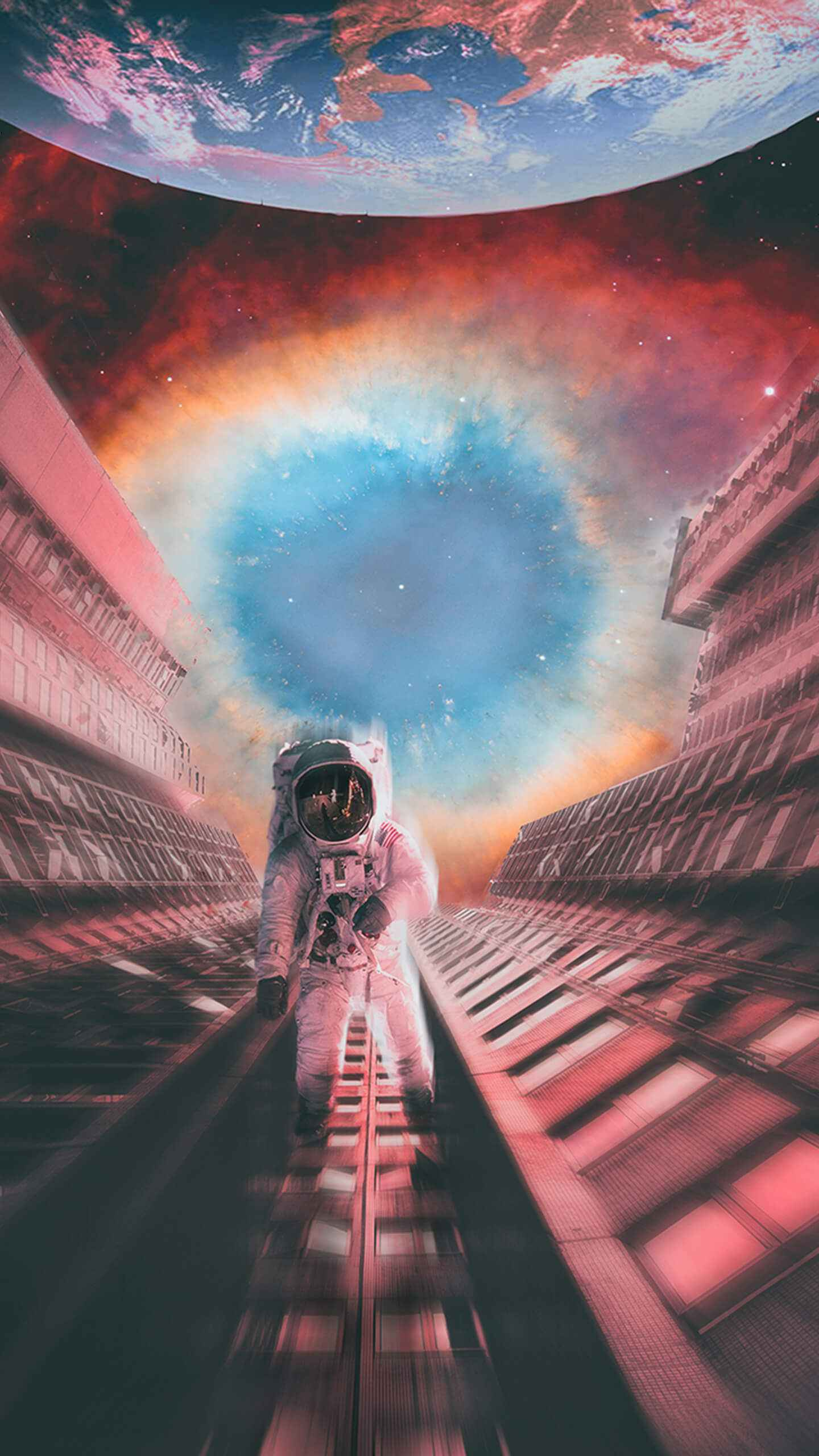 Space Escape iPhone Wallpaper