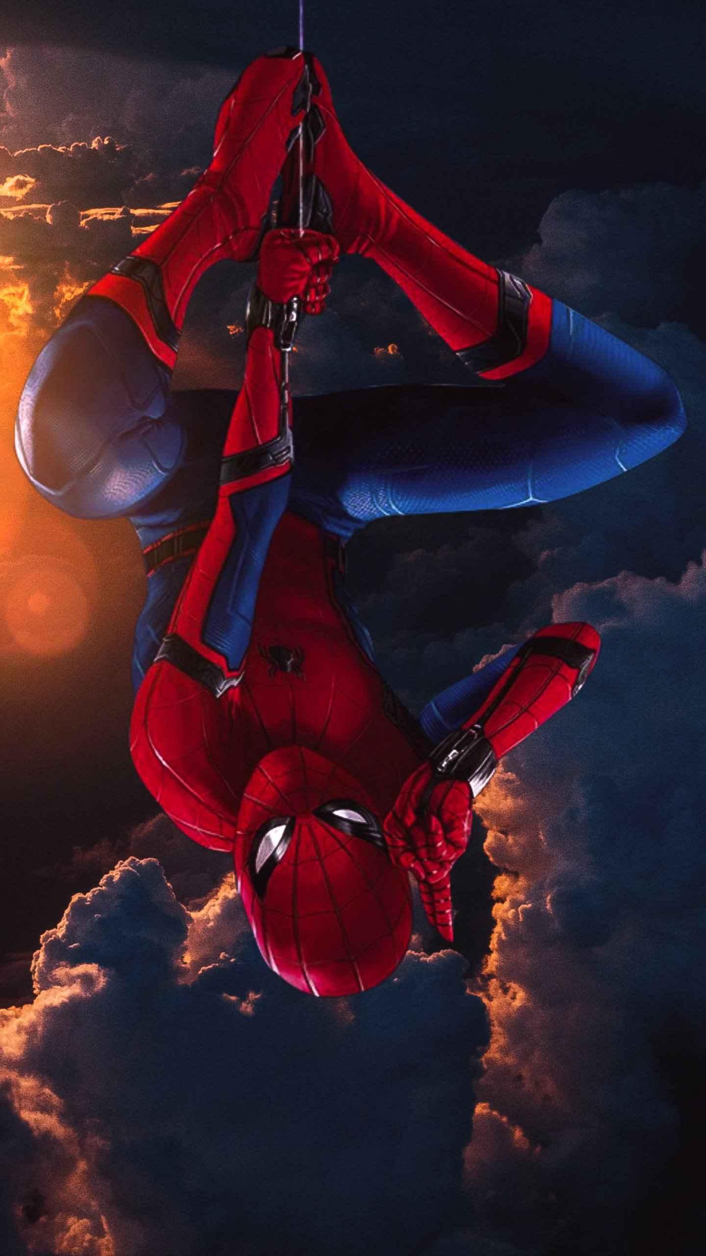 Spider Man Vertical iPhone Wallpaper
