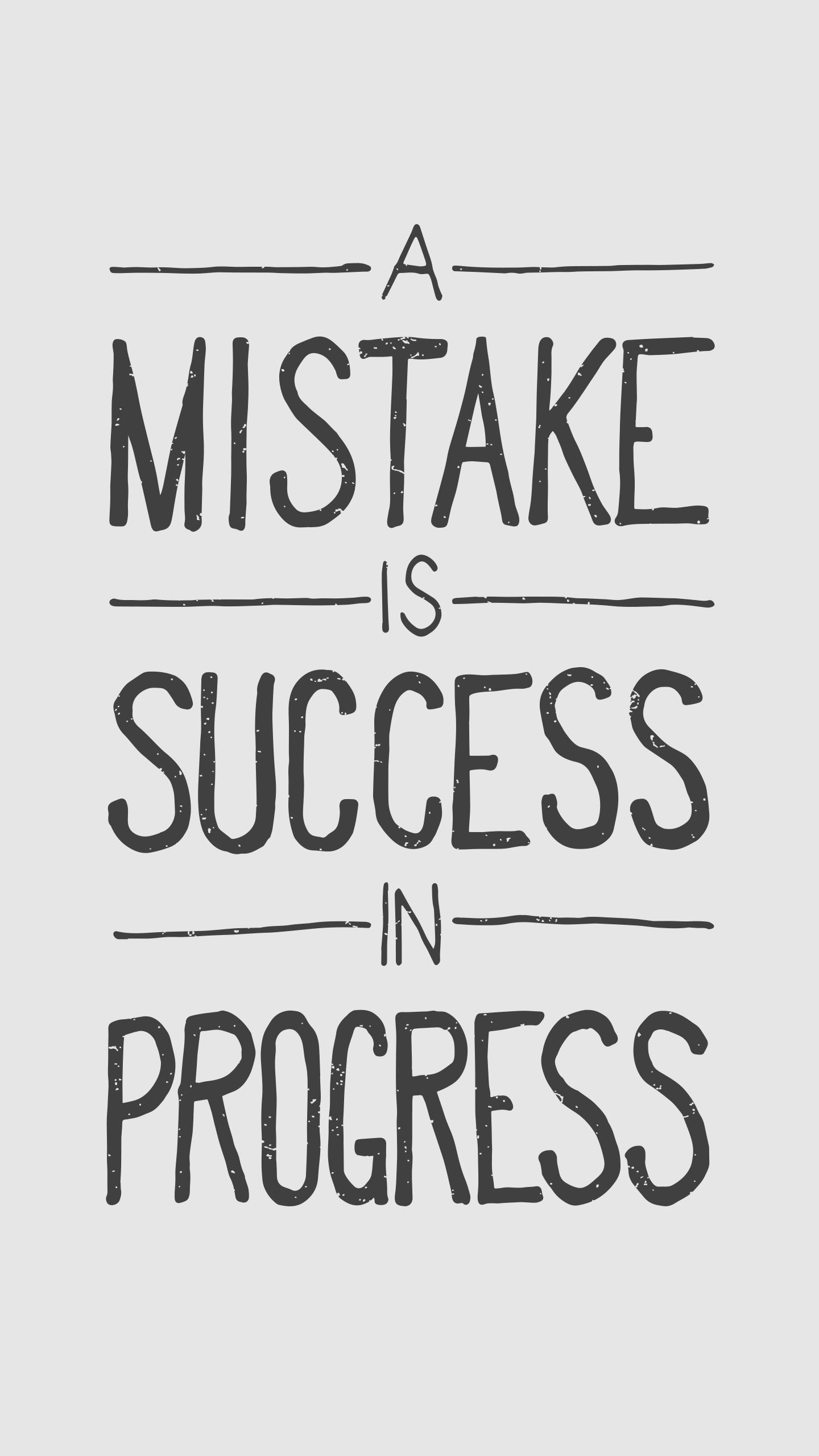 Success Quote iPhone Wallpaper