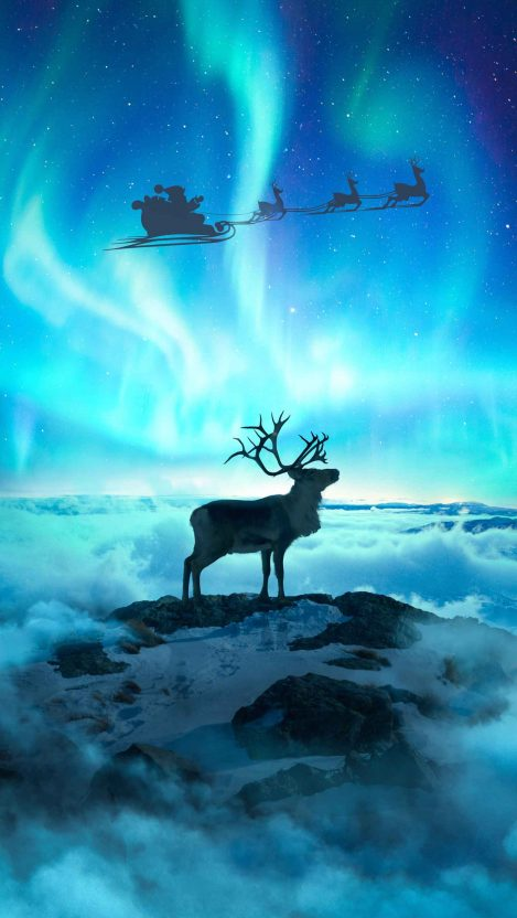 The Christmas Spirit iPhone Wallpaper