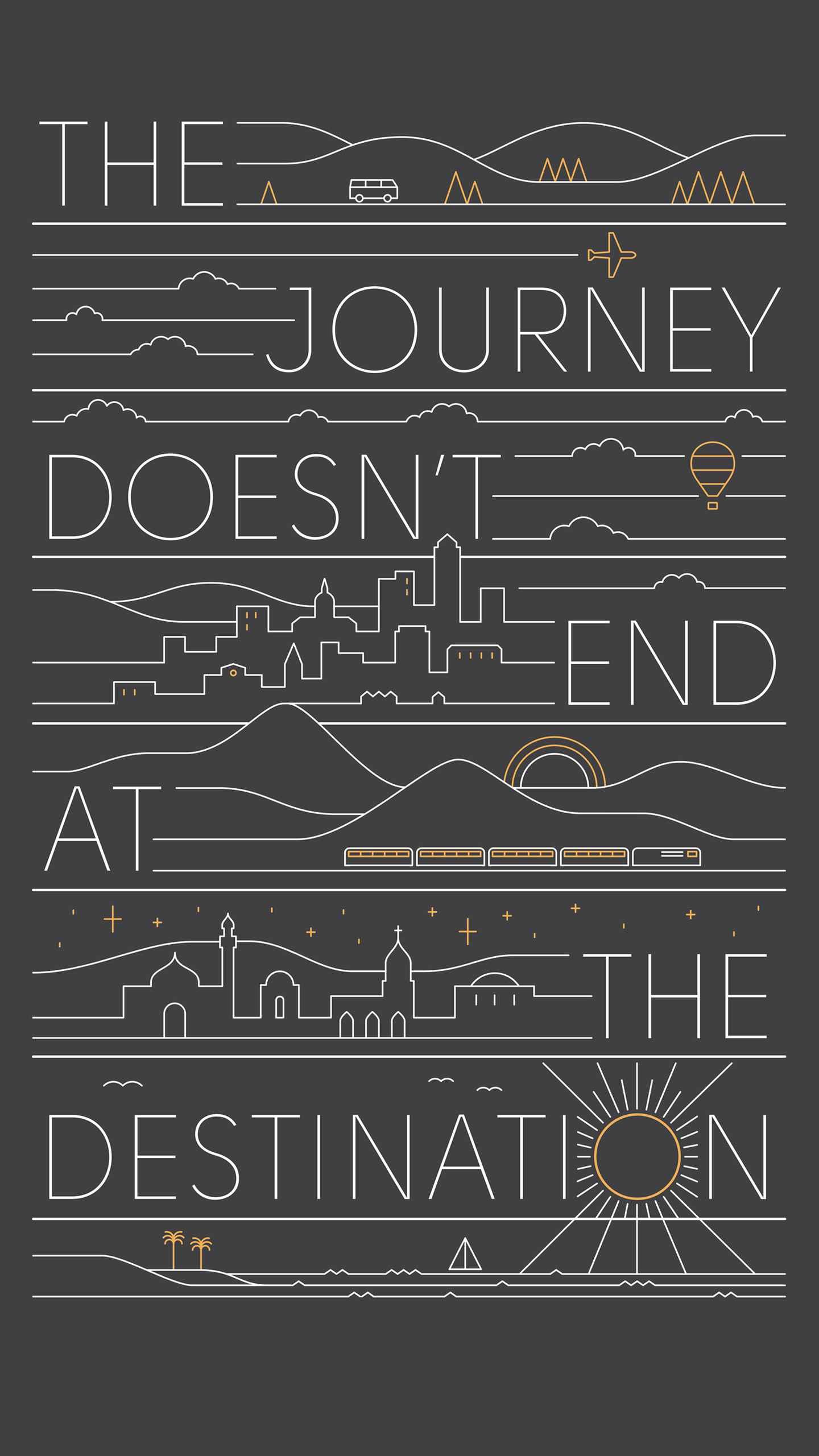 The Journey iPhone Wallpaper
