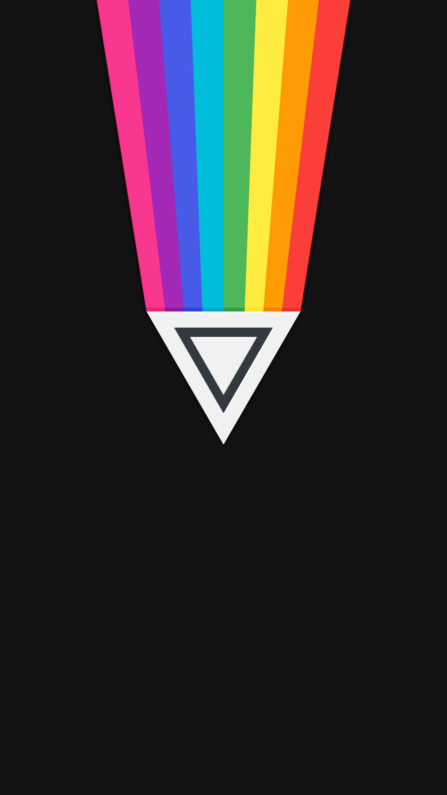 Triangle Colours iPhone Wallpaper