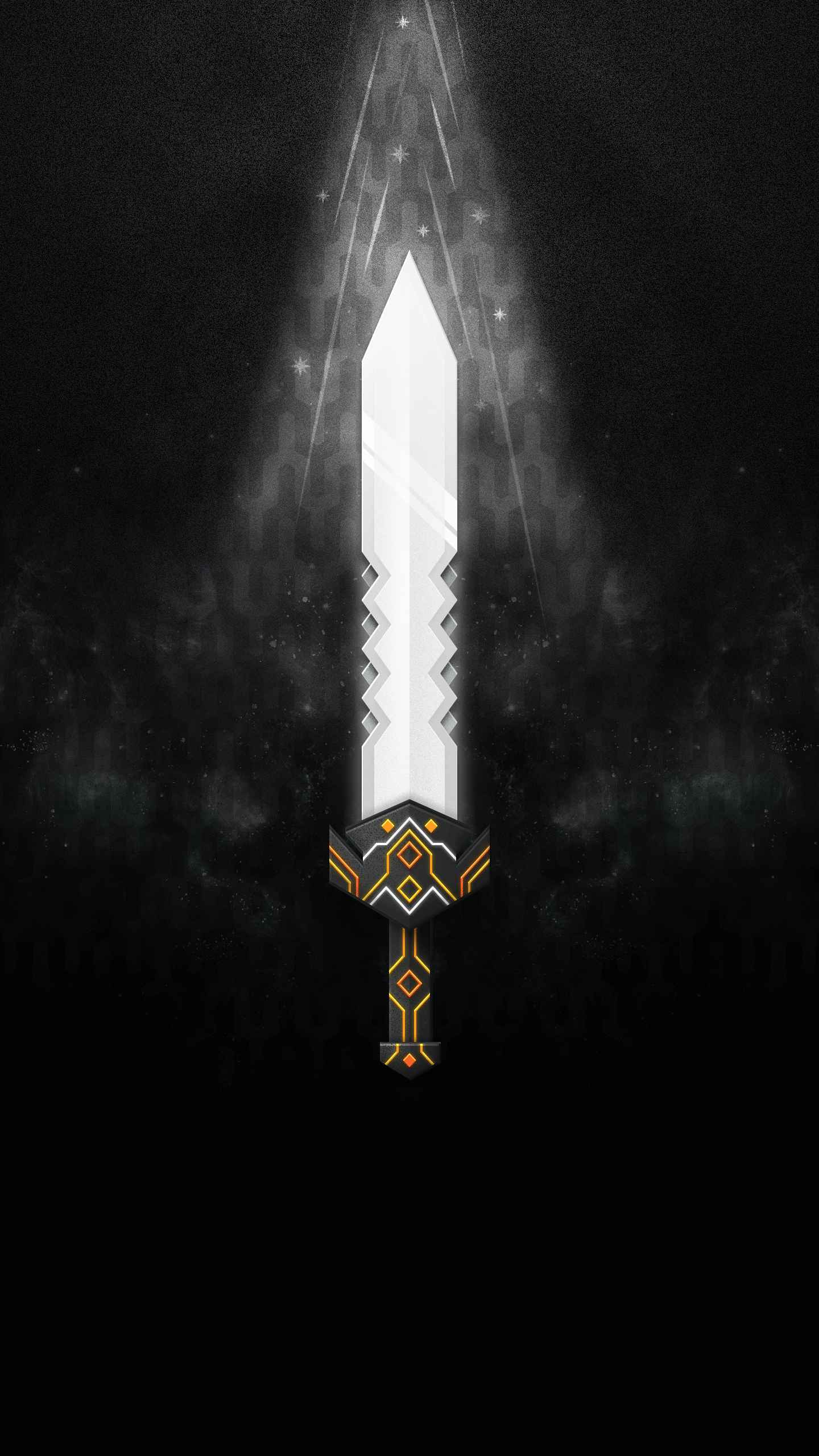 Triple Edged Sword iPhone Wallpaper