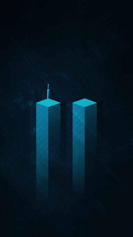 Twin Towers iPhone Wallpaper
