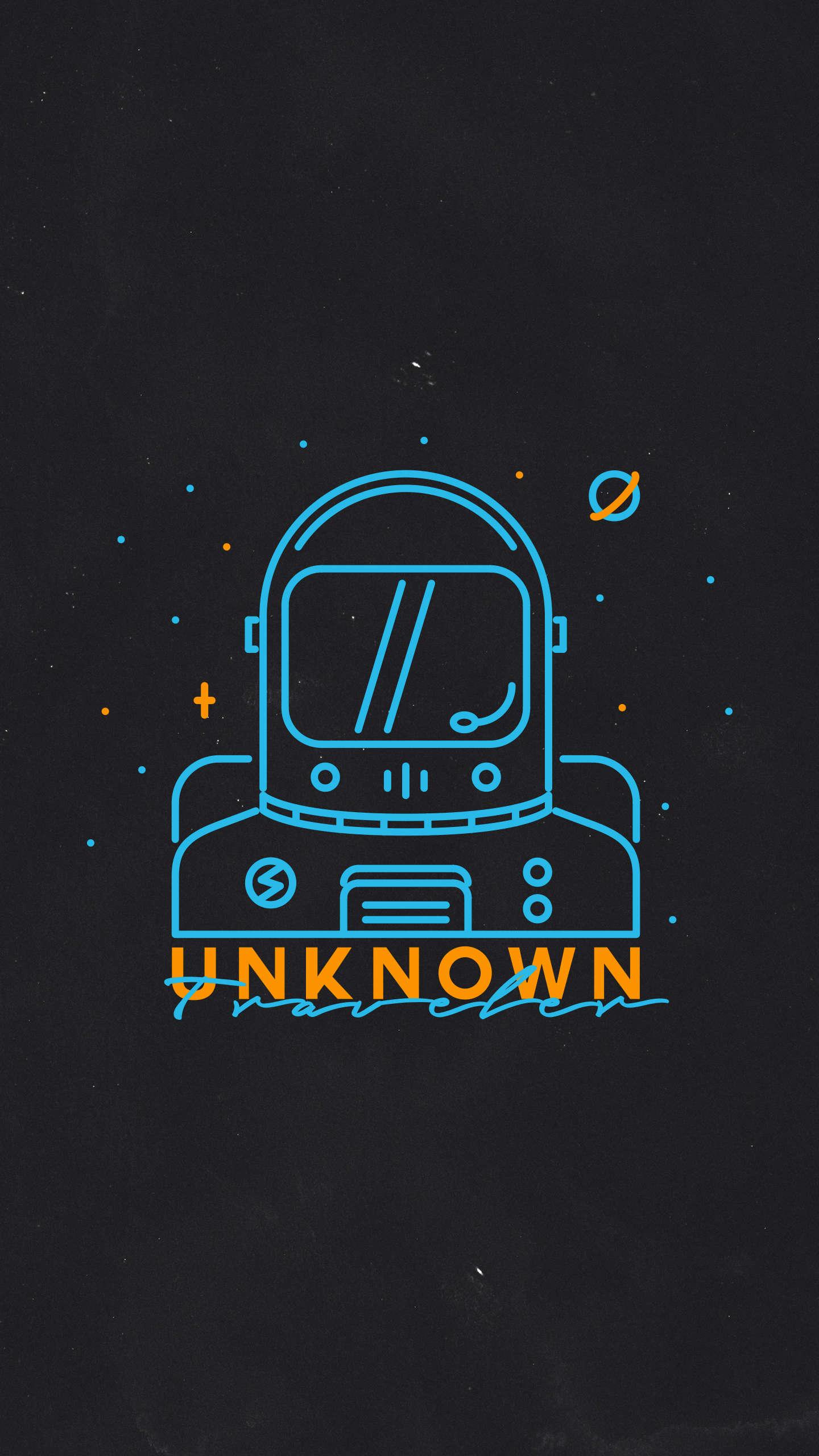 Unknown traveler iPhone Wallpaper