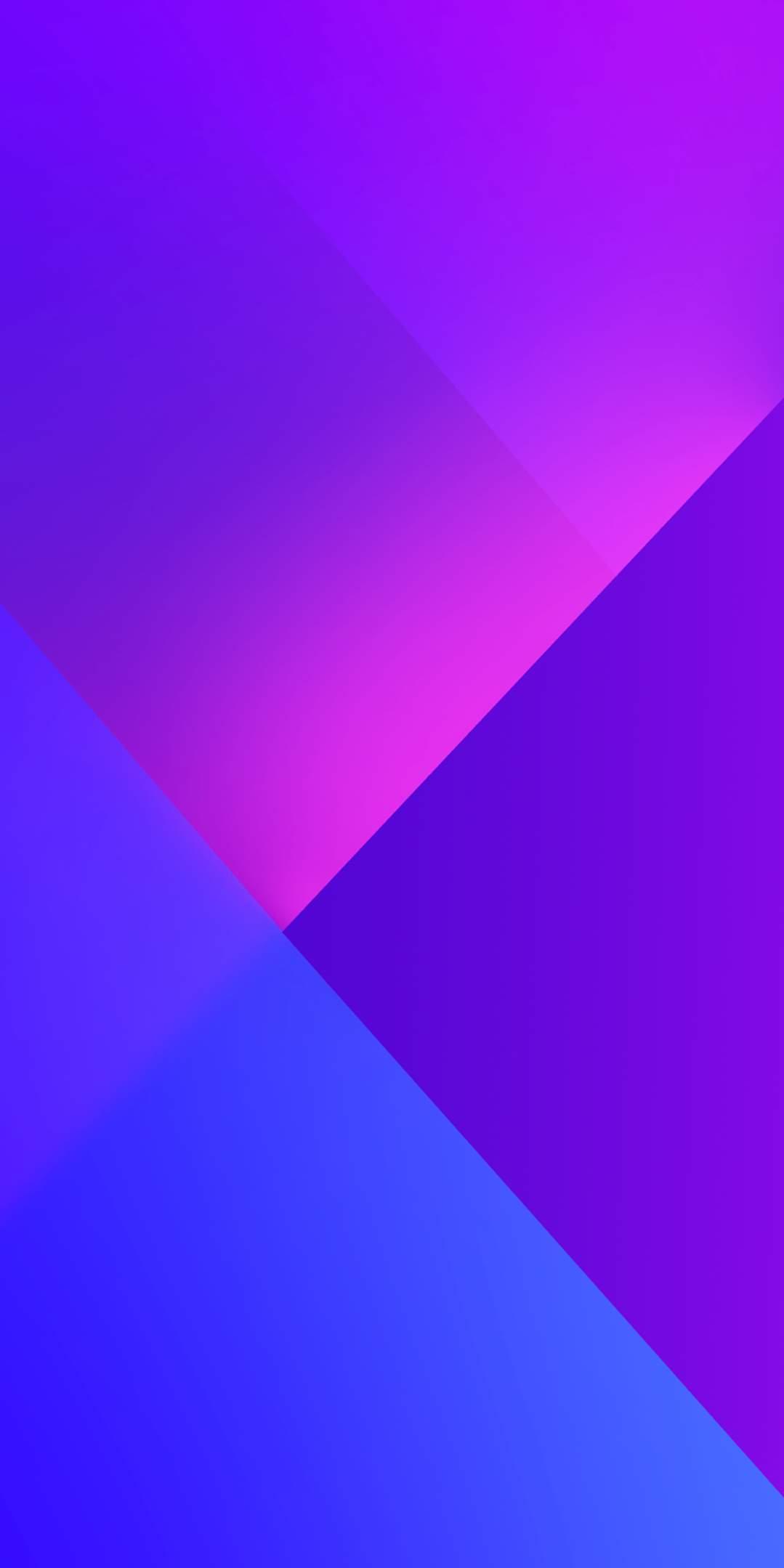 Abstract Purple Glow HD iPhone Wallpaper