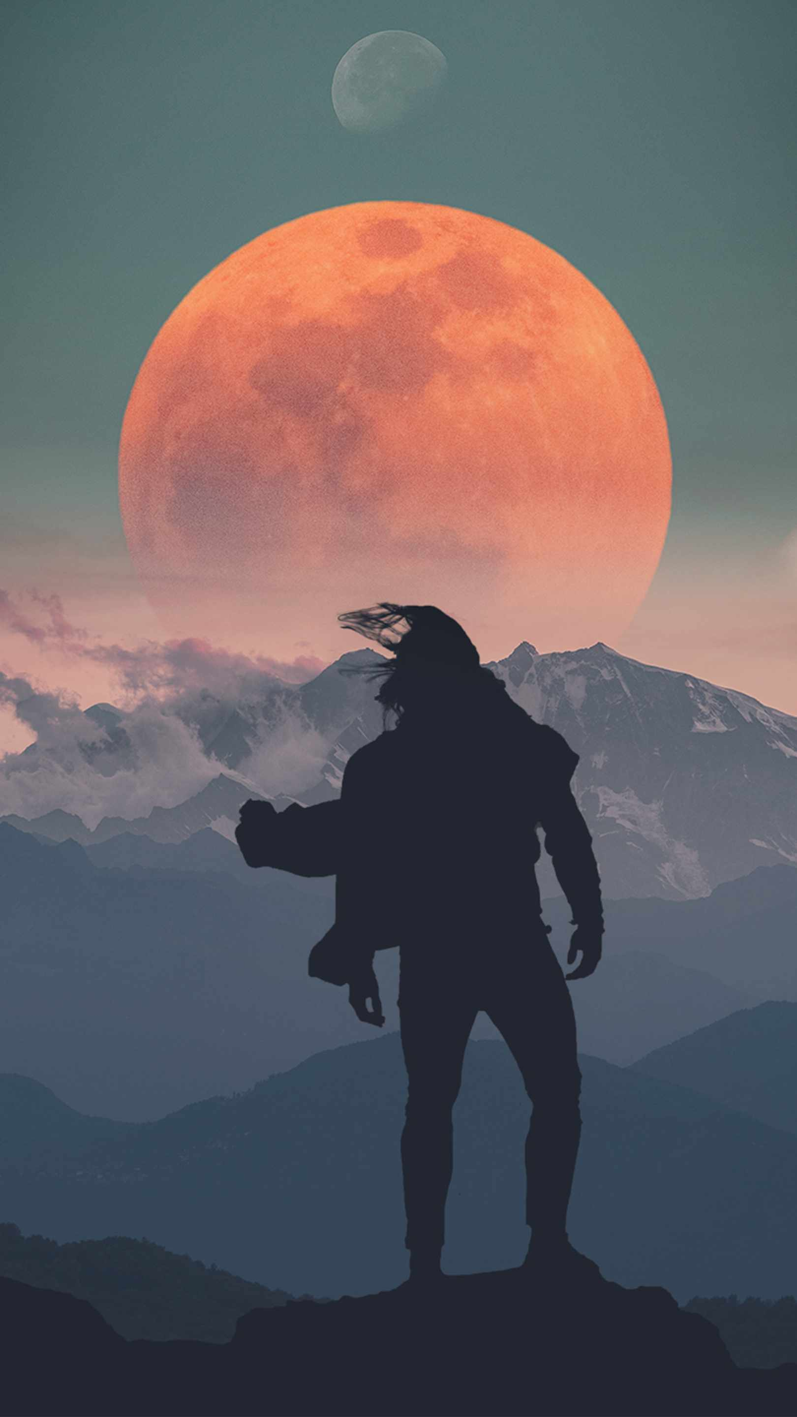 Adventures of Man iPhone Wallpaper