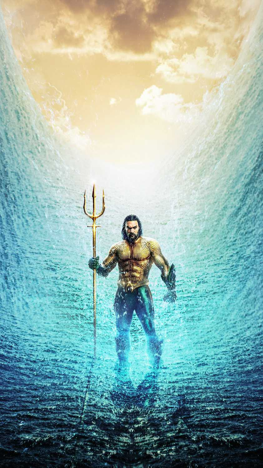 Aquaman Ocean iPhone Wallpaper