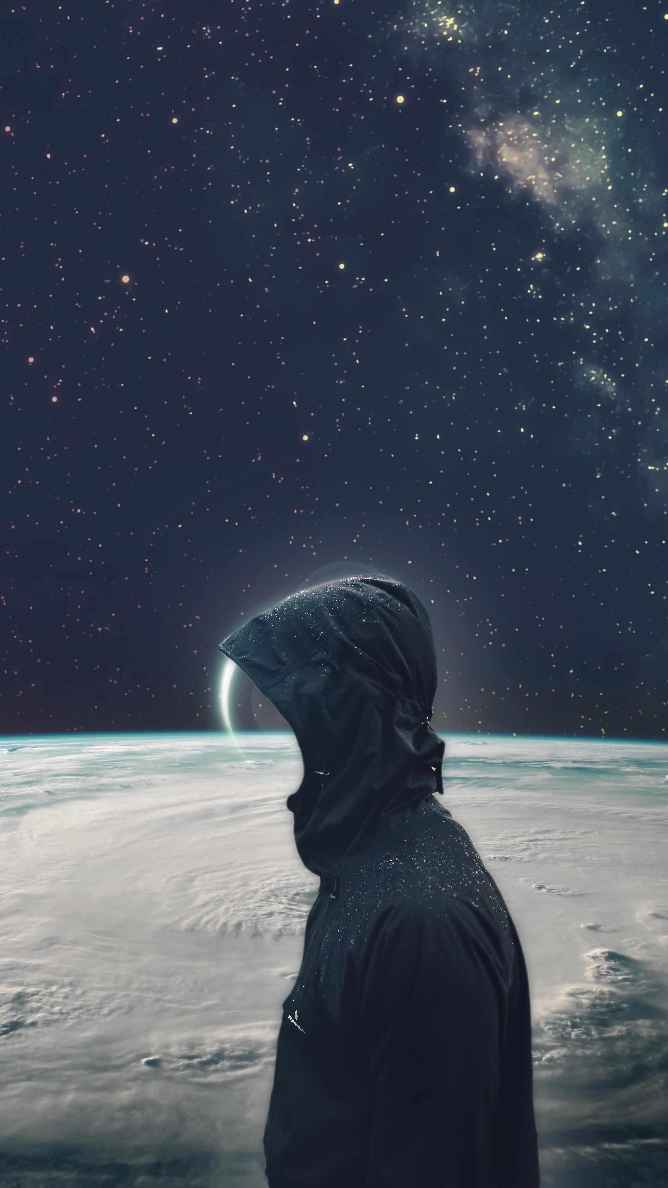 Astro man iPhone Wallpaper