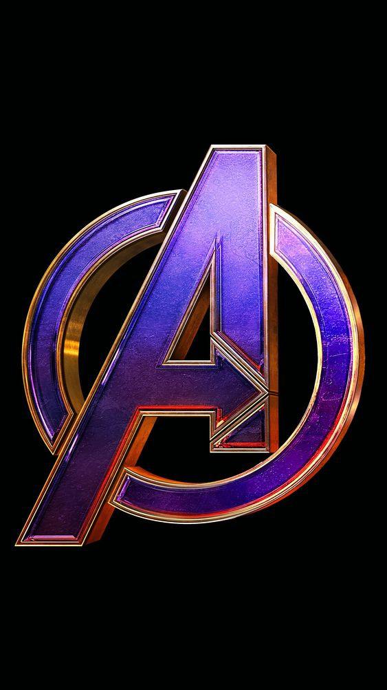Avengers Endgame Logo iPhone Wallpaper