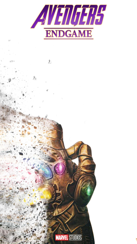 Avengers Endgame Thanos Snap iPhone Wallpaper