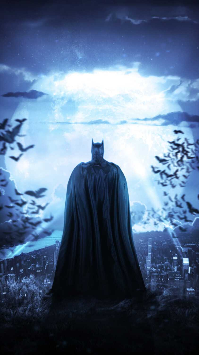 Batman Gotham King iPhone Wallpaper