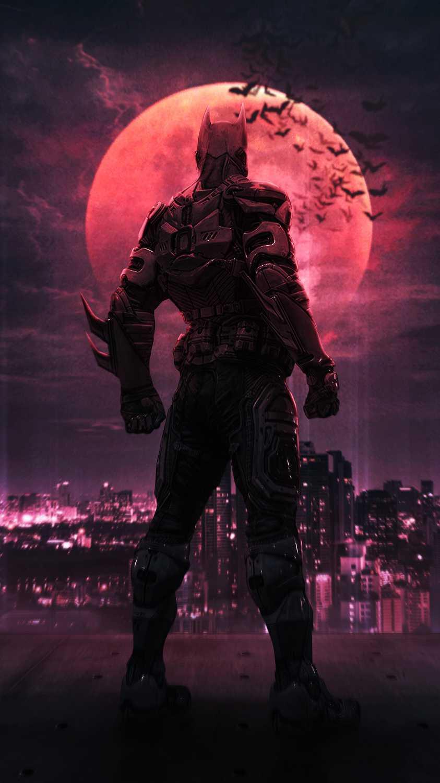 Batman Night iPhone Wallpaper