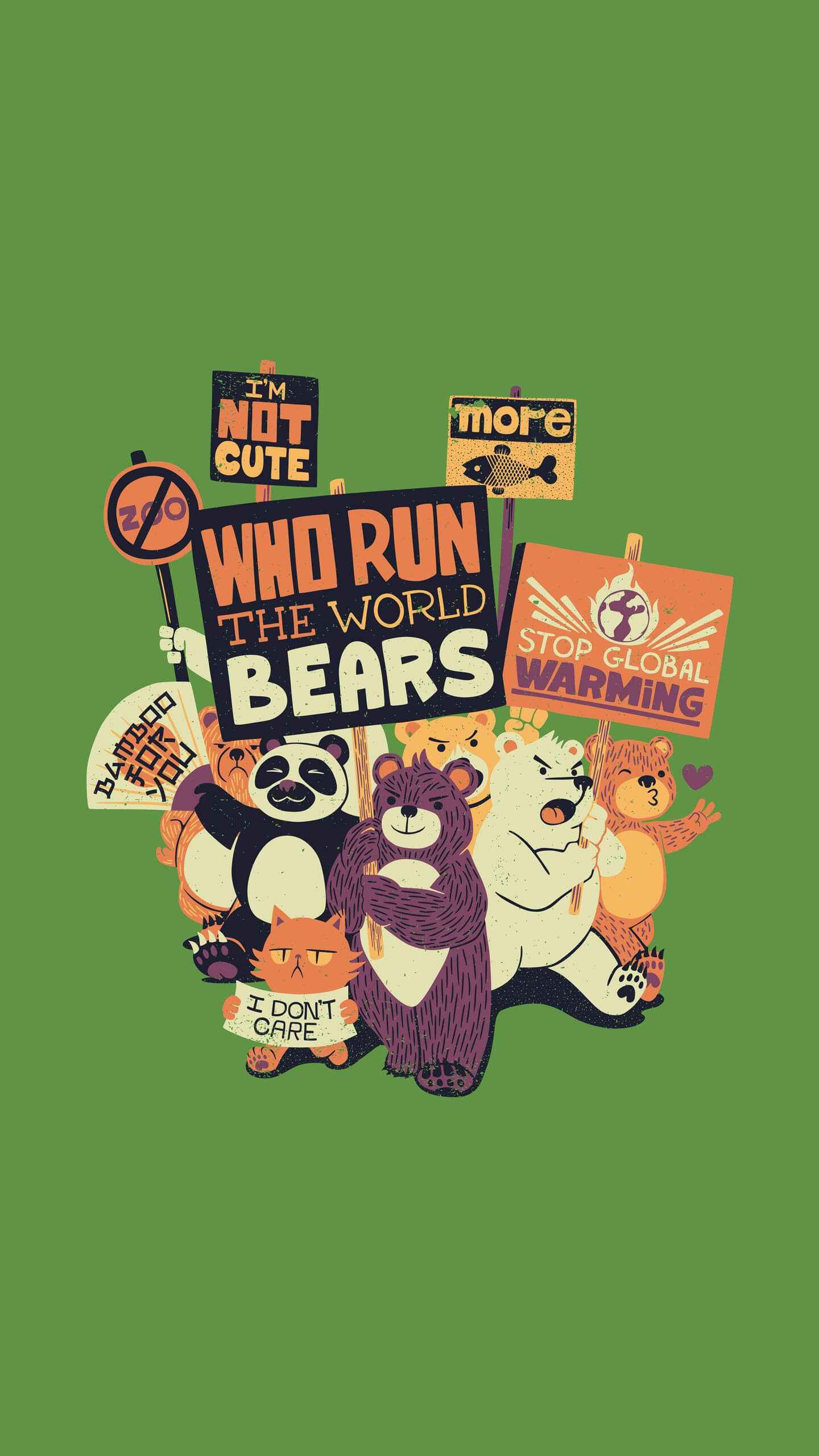 Bears iPhone Wallpaper