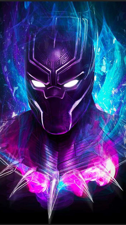 Black Panther Art iPhone Wallpaper