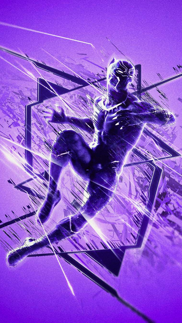 Black Panther Endgame iPhone Wallpaper