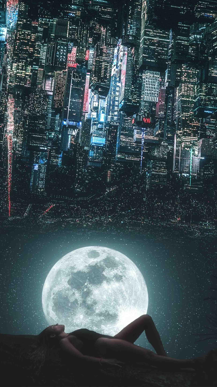 City Dreams iPhone Wallpaper