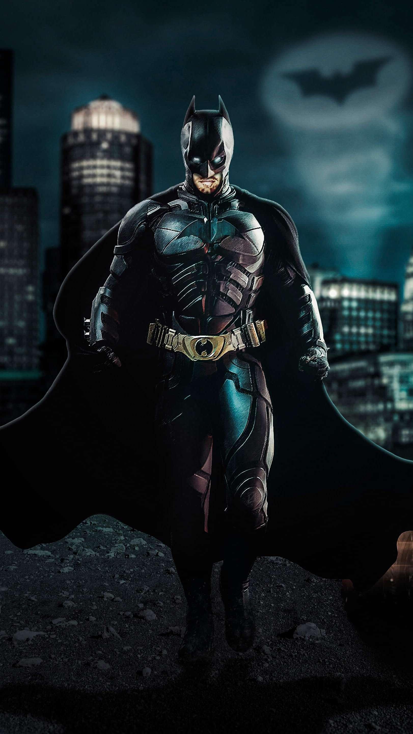 Dark Night Batman iPhone Wallpaper