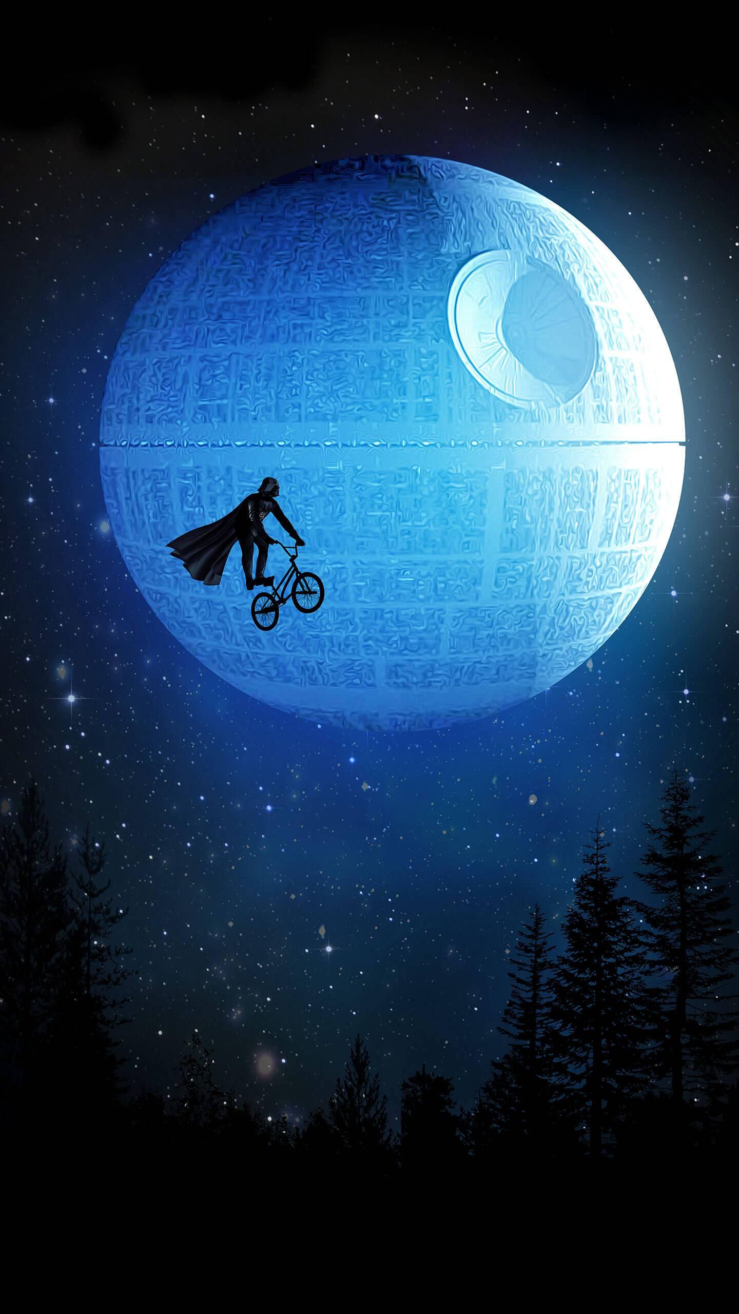 Darth Vader Fun iPhone Wallpaper