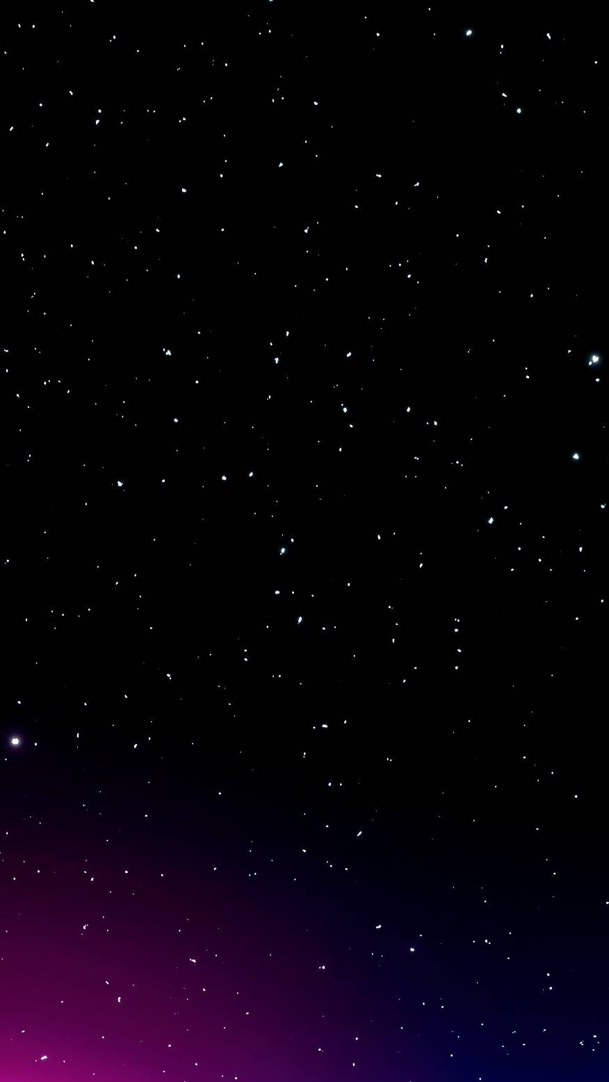 Deep Dark Space Stars iPhone Wallpaper