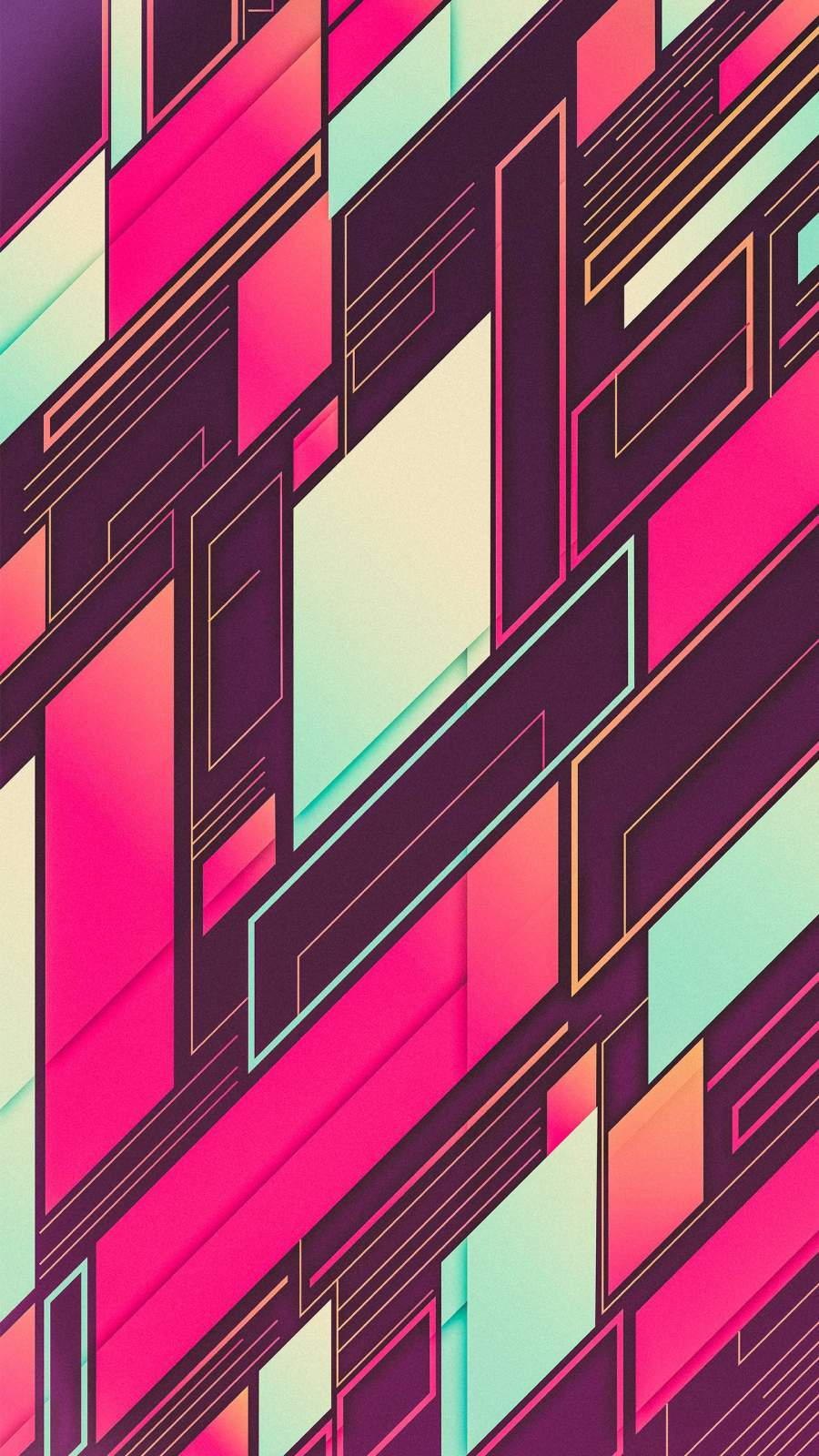 Digital Pattern iPhone Wallpaper